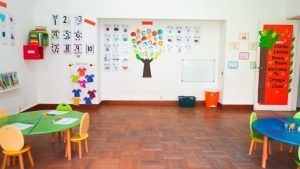 colours classroom